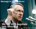 We do not negotiate with Terrorists